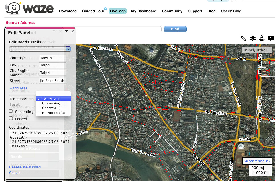 Waze Map Editor | tenz1225 | Flickr