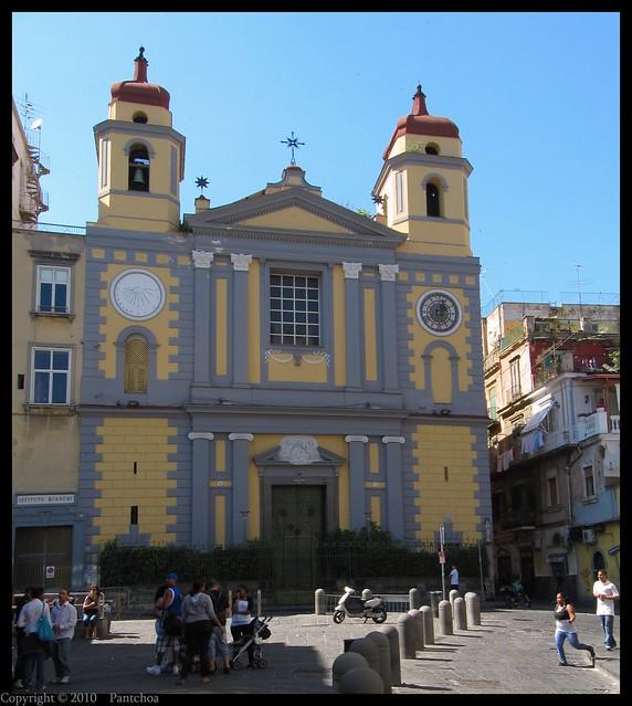 Naples  : Chiesa di Santa Maria di Montesanto