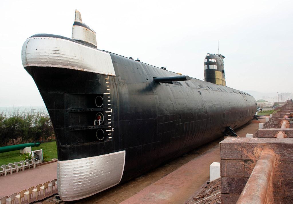 INS Kurusura Submarine Museum,Visakhapatnam