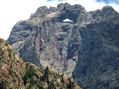 Face W du Tafonatu depuis le couvent de Santa Maria
