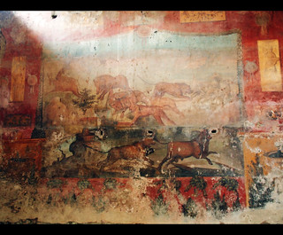 Pompeii Wall Painting | by robert_goulet