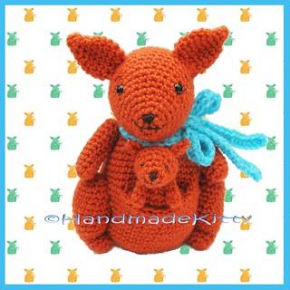 Bea and Miki Amigurumi Kangaroos   PDF Crochet Pattern – AiraliDesign   320x320