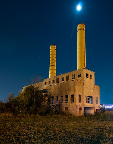 galveston abandoned night texas incinerator