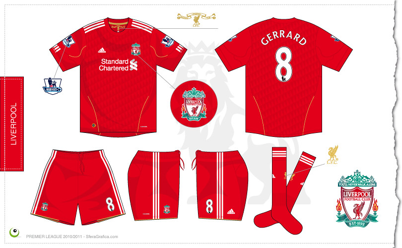 official photos 99c2e f333c Liverpool home kit 2010/2011 | Sergio Scala | Flickr