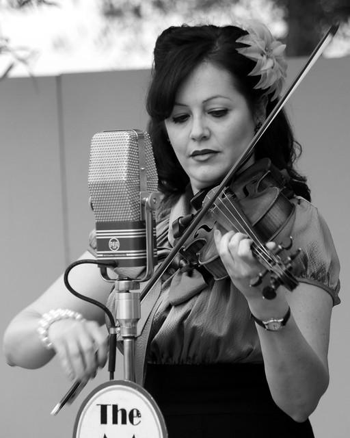 Violin  (B & W)
