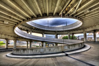 Cobo Hall Roof Parking Ramp Middle Facing Northwest Flickr