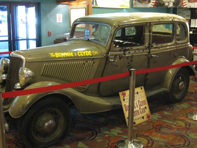 Bonnie & Clyde Death Car