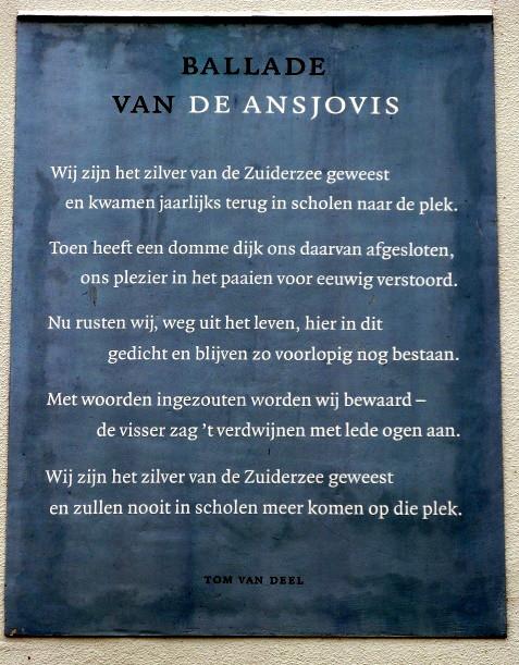 Ballad Of The Anchovies Een Gedicht Van Tom Van Deel Op Ee