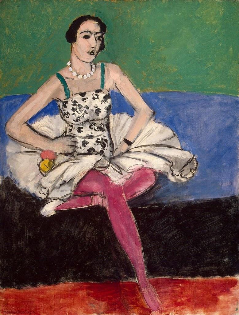 Henri Matisse - Ballerina [c.1927]