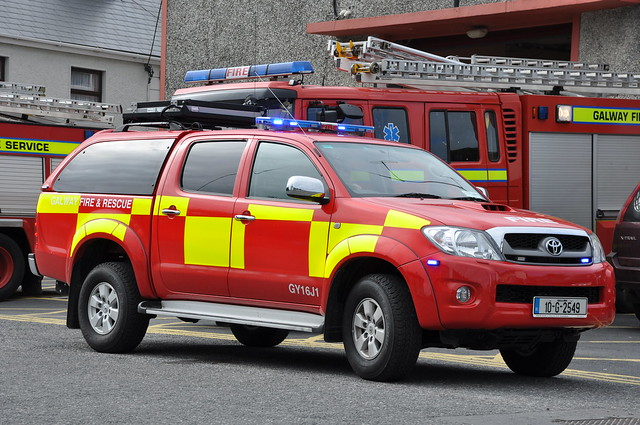 Galway Fire Service 2010 Toyota Hilux Sidhean Teo L4V 10G2549