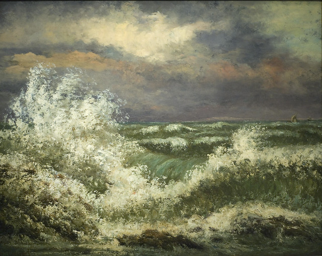 Gustave Courbet - 1869 The Wave