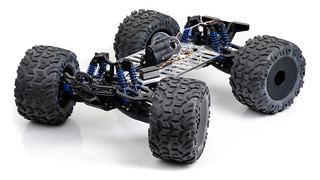 E-Maxx R/C truck chassis | by Dan Strother