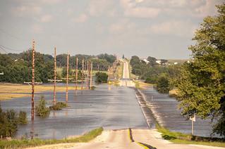 Skunk River Flooding at Hwy 210