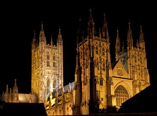 Canterbury Cathedral night | by ahisgett