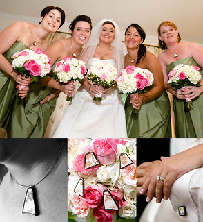 MIller Salas Wedding jewelry | by The Broken Plate Pendant Co.