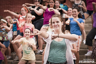 Flashmob in Stratford, Ontario | by Pat Dryburgh