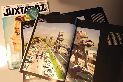 Invading Juxtapoz Issue 115 August 2010   by Invading The Vintage - Franco Brambilla