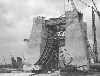 Construction Progress of the S-IC Test Stand | by NASA on The Commons