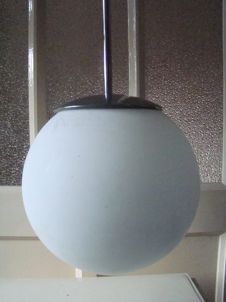 Retro Gispen Bureaustoel.Super Retro Chromen Star Wars Melkglazen Bol Lamp Conditie Flickr