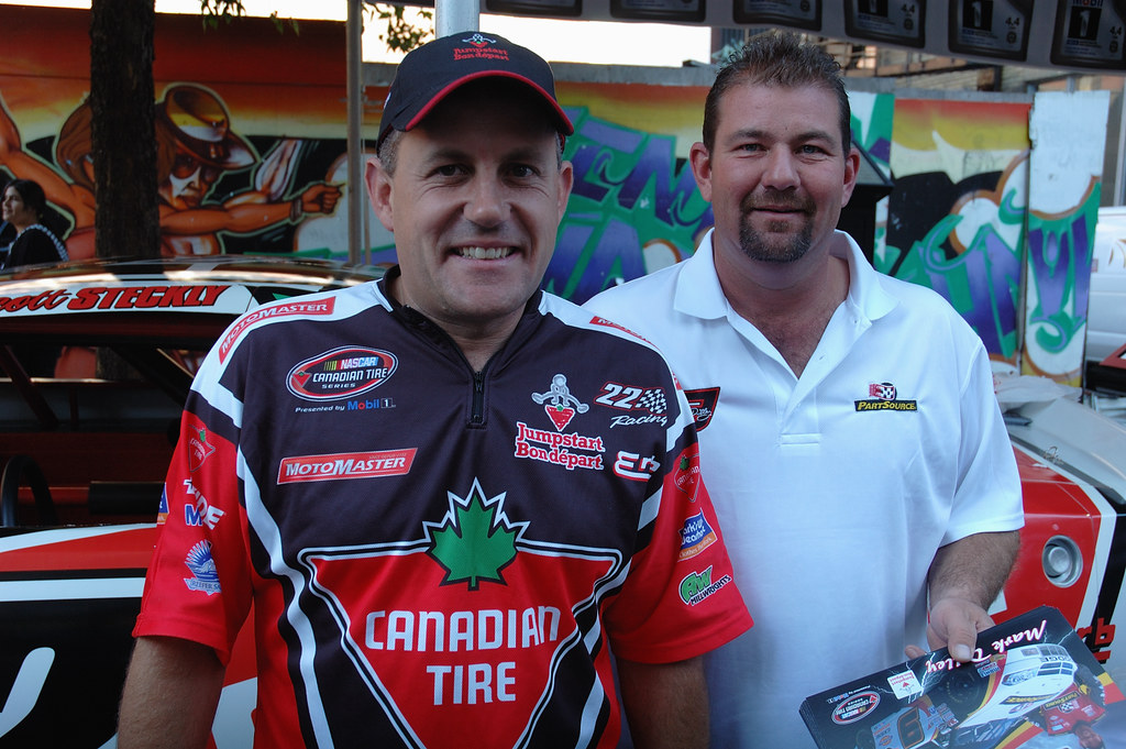 Scott Steckly And Mark Dilley | Canadian Tire Nascar