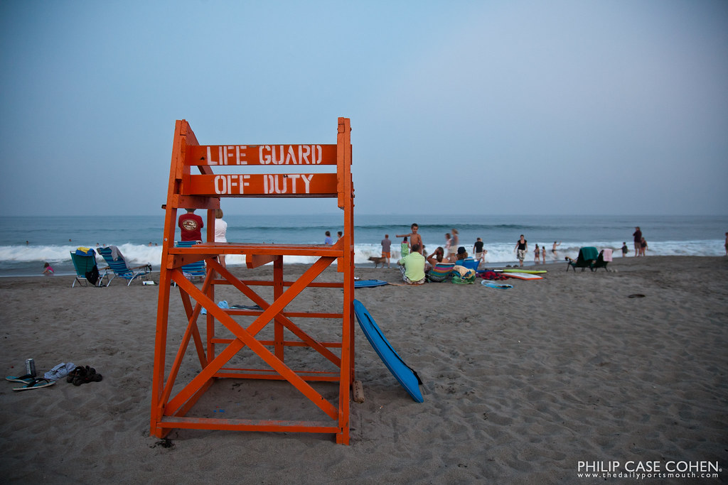 Lifeguard Off Duty by Philip Case Cohen