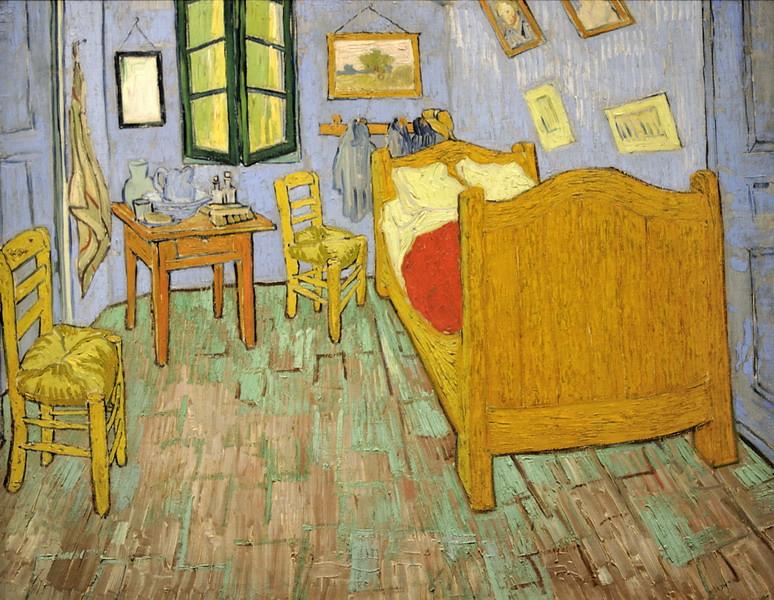 Superieur ... La Chambre De Vincent A Arles Septembre 1889   72×90cm   The Art  Institute
