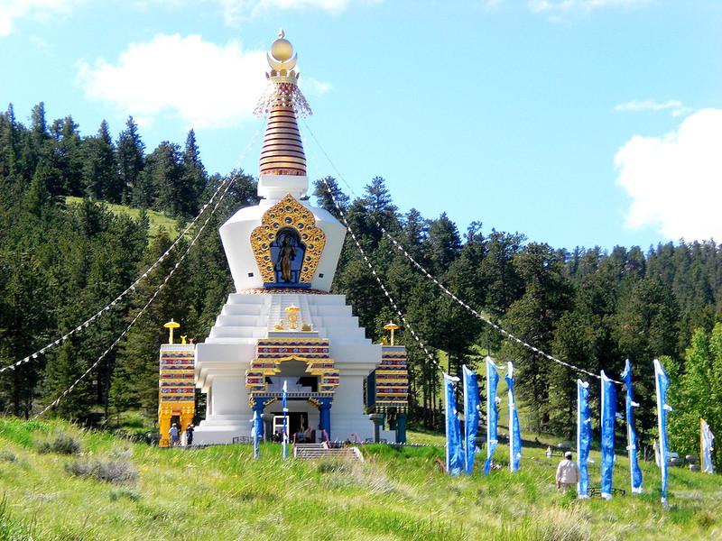 Gran Estupa de Dharmakaya