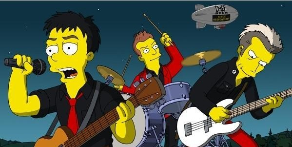 green_day_simpsons