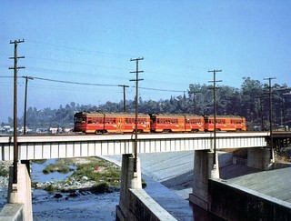 PERY 19520417 Glendale Line Crossing L. A River | by Metro Transportation Library and Archive