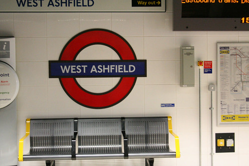 West Ashfield Tube Station | by IanVisits