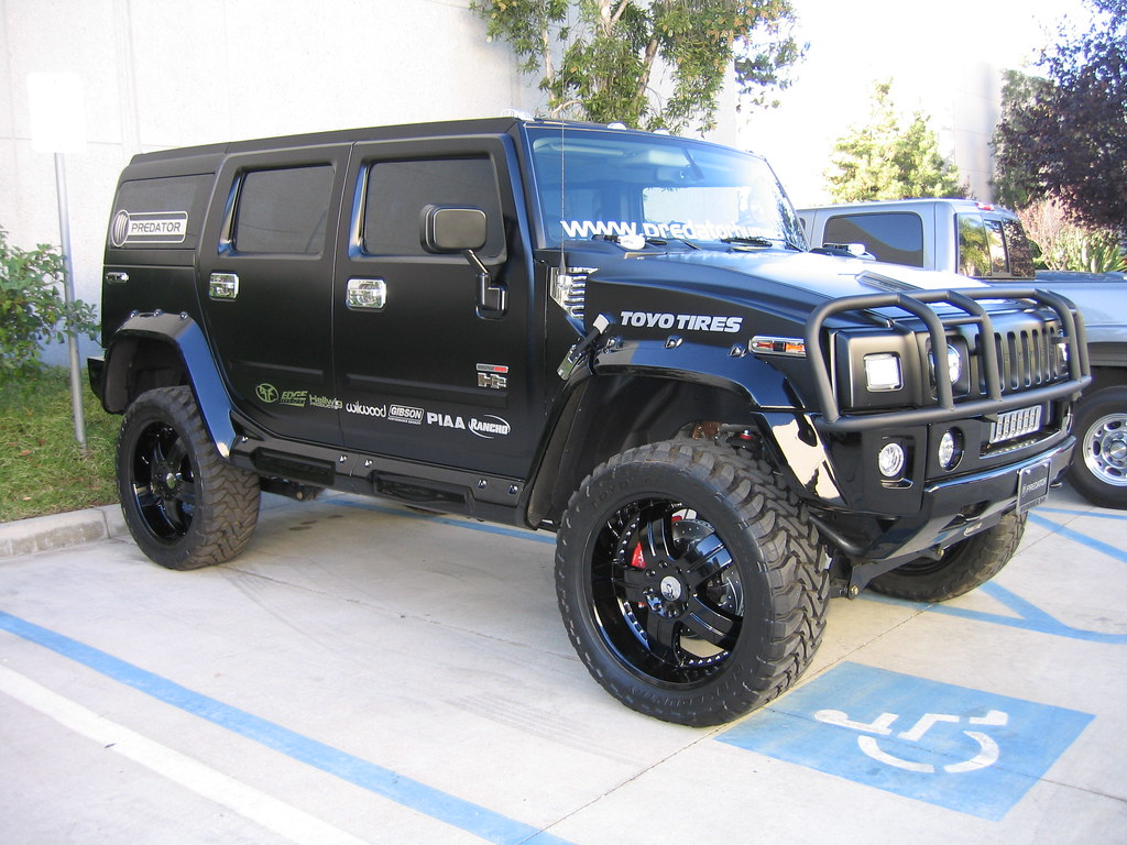 Predator Dmax H8 Hummer SEMA Build 8 | Predators SEMA Show ... | hummer predator