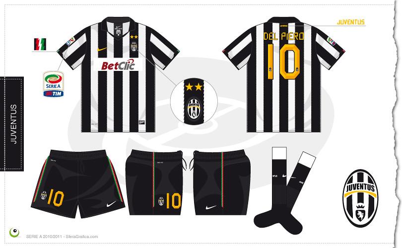 quality design 6e666 cc288 Juventus home kit 2010/2011 | Sergio Scala | Flickr