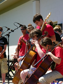 Fiddlers ReStrung Playing in Paradise (Whitefish Township), Michigan on Waterbound 2010 Tour | by cseeman