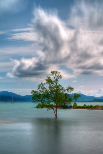 longexposure sea tree clouds langkawi hdr hoya cokin nd400 photomatix nd8 flickraward flickraward5 mygearandmepremium mygearandmebronze mygearandmesilver mygearandmegold flickrawardgallery