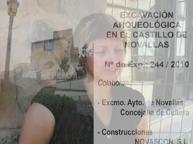 Excavación Castillo Novallas - Día 1