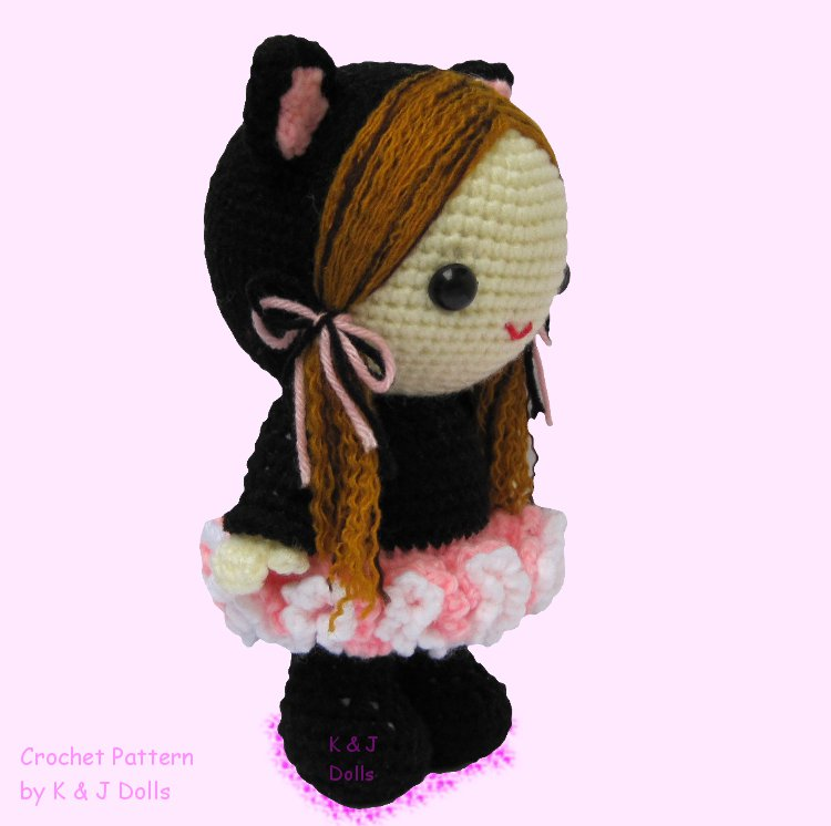Ballerina mouse | downloadable amigurumi crochet pattern | lilleliis | 746x750