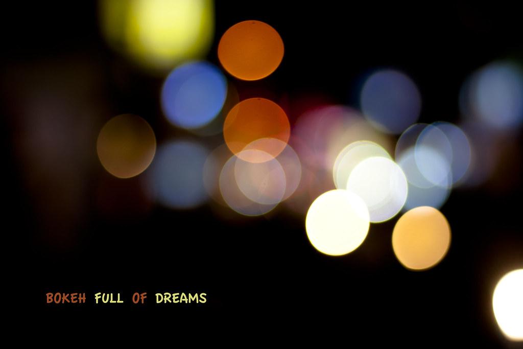 Bokeh full of Dreams | Canon 1000D + Canon 50mm 1 8 | Nishanth Jois
