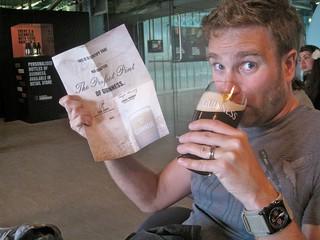 Enjoying my perfect pint | by jetsetwhitetrash