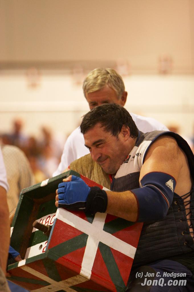 Juan José Unanue   Basque strongman Juan José