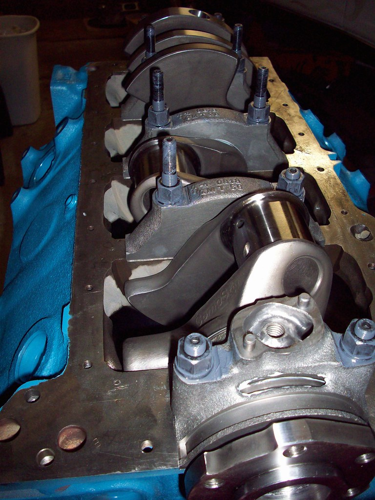 Internal Balance 400,4340 Forged Crank | Callies Compstar 3