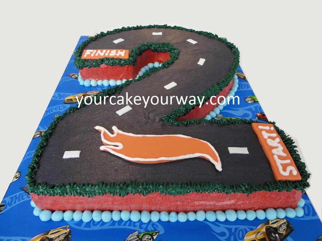 Tremendous Hot Wheels Birthday Cake This Hot Wheels Birthday Cake Is Flickr Funny Birthday Cards Online Alyptdamsfinfo