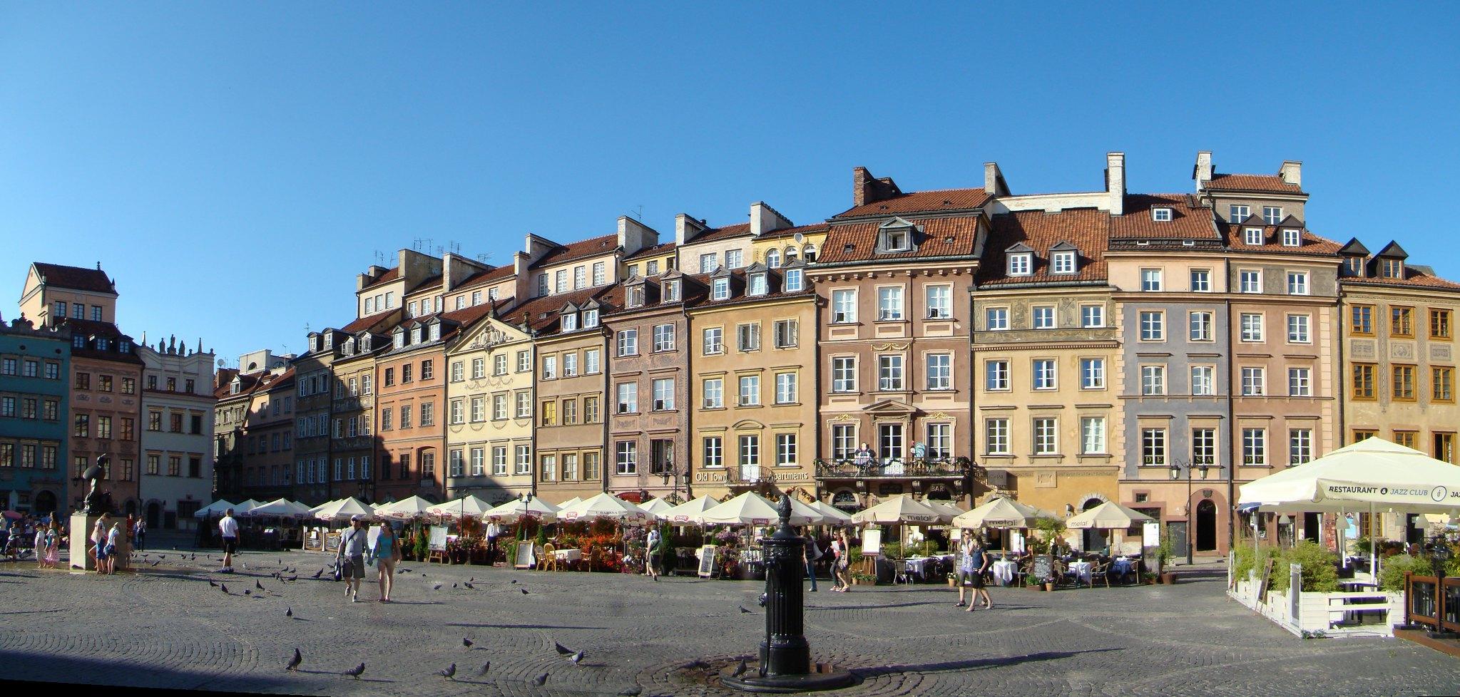 Mercado de la Ciudad Vieja Varsovia Polonia