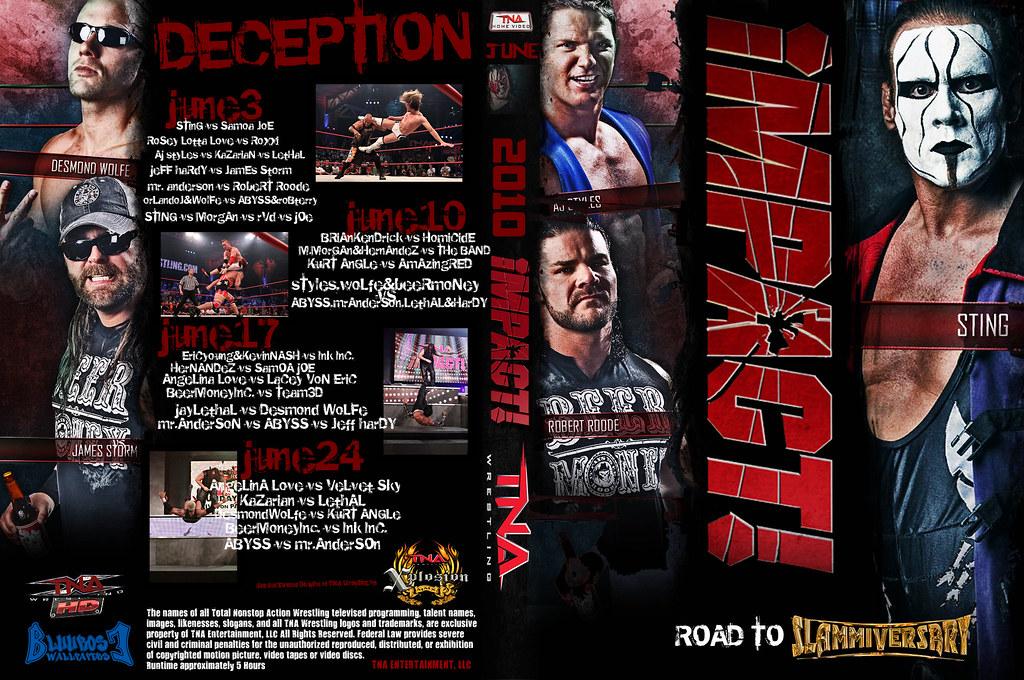 TNA Impact 2010 7 June DVD Cover | kikobluerose | Flickr