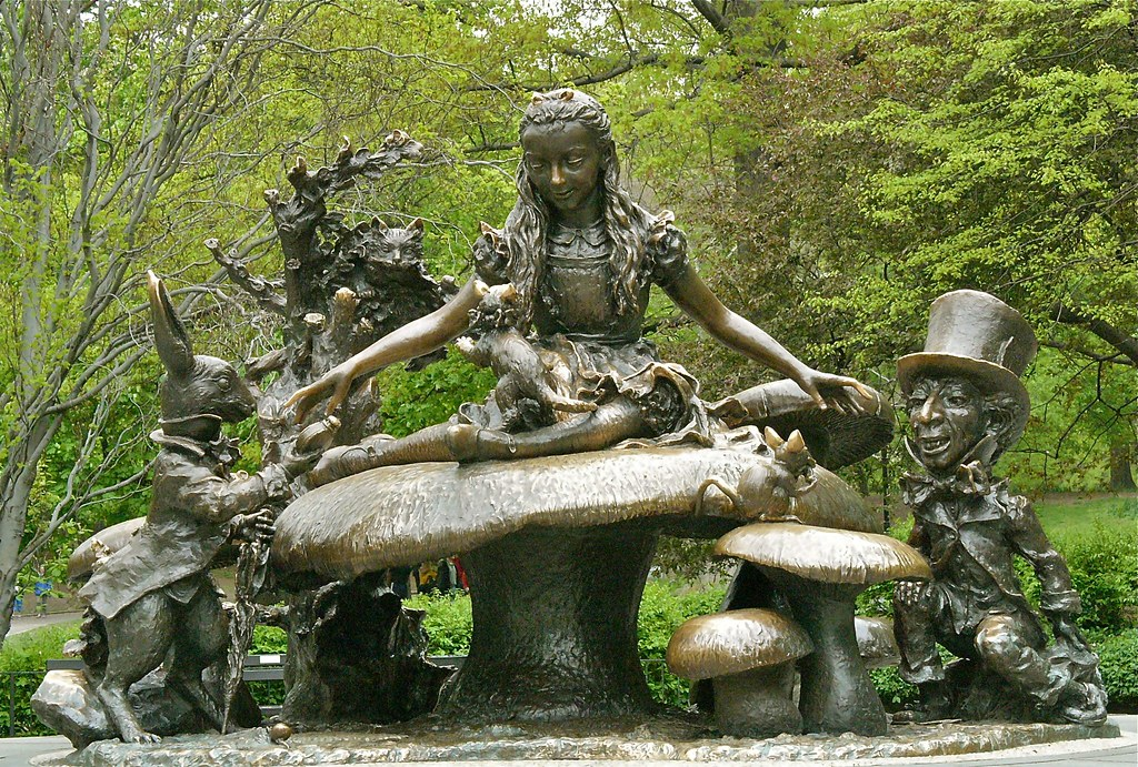 Alice in Wonderland - free things to do in nyc