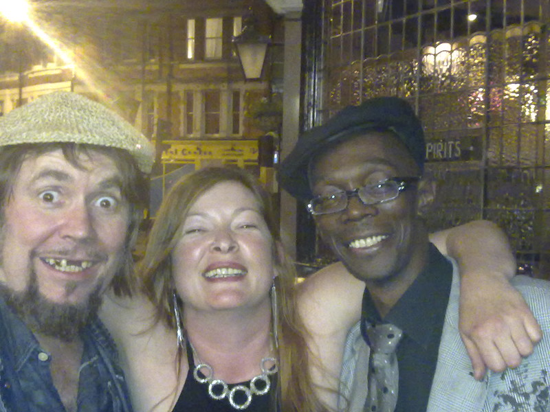 Jerry Dammers, Jill O'neil and Maxi Jazz at Half Moon Pub Herne Hill
