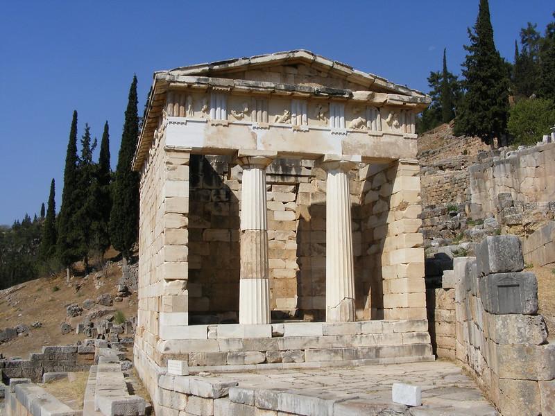 Tesoro de los Atenienses-5