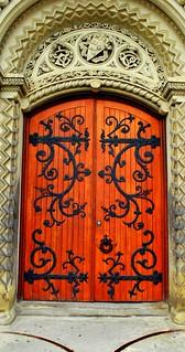 Ornate Door, University of Toronto   by oleary.thomas