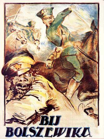 Bij Bolszewika Polski Plakat Propagandowy Ben Viet Flickr