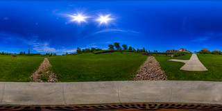 Happy planet is happy! - Equirectangular in Boucherville, Quebec | by haban hero