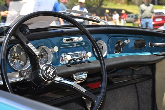 VW Type 3 interior